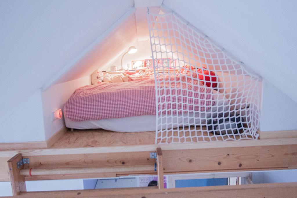 Ausgebaute Schlafkoje