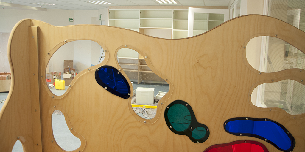 Montage Tischlerei Holzwerkstatt Kita