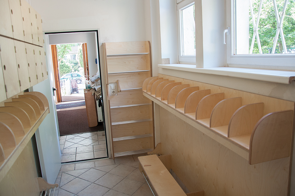 Garderobenraum