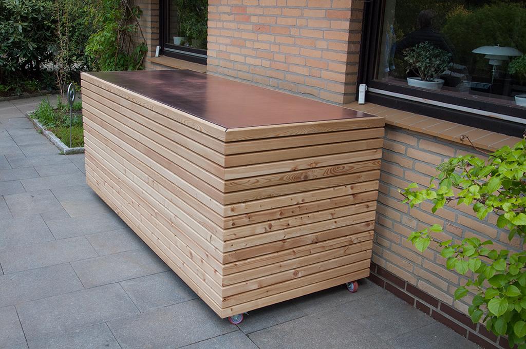 Gartentruhe für Sitzpolster