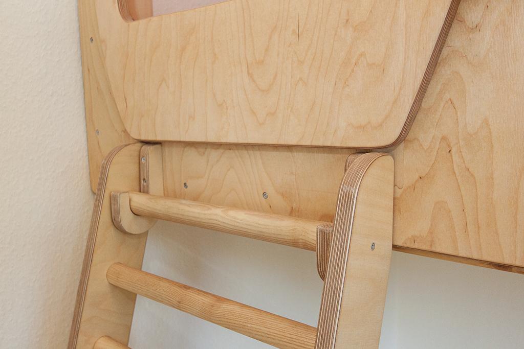 Leiter mit Aufhängung Detail